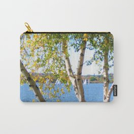 Sailing through the Birch Carry-All Pouch