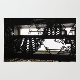 Trinity College Library Spiral Staircase Rug