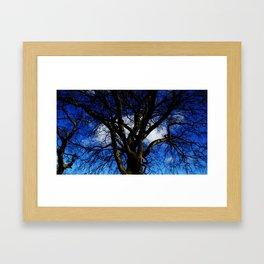 Mr Blue Sky. Framed Art Print