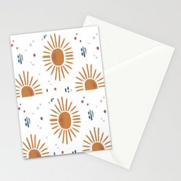 sunbursts Stationery Cards
