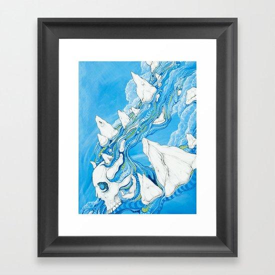 Losing Form Framed Art Print