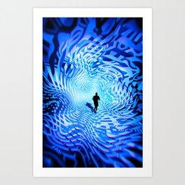 Into The Unknown CVI - Escape I Art Print
