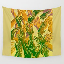Hand Aesthetic Wall Tapestry