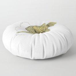 Gold Arowana Floor Pillow