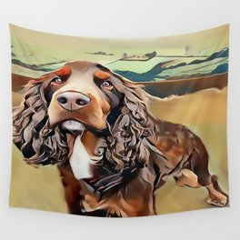 The Field Spaniel Wall Tapestry