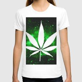 Weed : High Times Green Galaxy T-shirt
