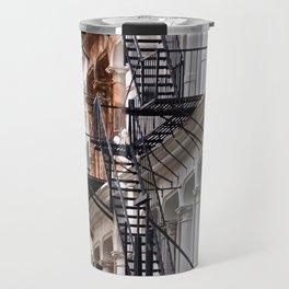 Fire Escapes of SoHo NYC Travel Mug