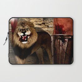 For The Glory of Blood Laptop Sleeve