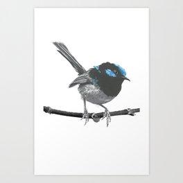 One Little Birdy Art Print