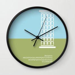 GREECE - FontLove Wall Clock