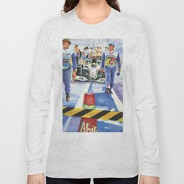 Brawn approaches the Grid Long Sleeve T-shirt