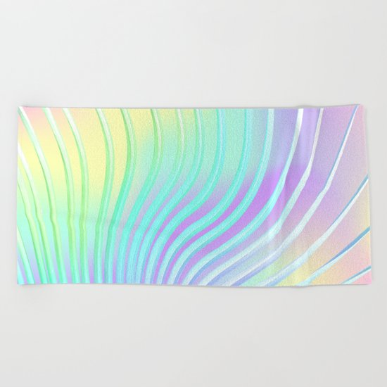 Summer Dance Beach Towel
