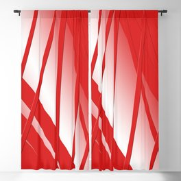 Thunderbird Orange Strings Blackout Curtain