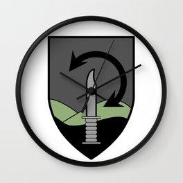 "The IDF's ""OZ"" (89th) Special Forces Brigade Badge Wall Clock"