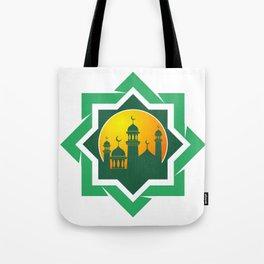 Symbol of Muslim Tote Bag