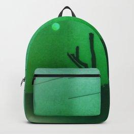 Creepy Green Scene Backpack