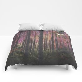 COSMIC FOREST UNIVERSE Comforters
