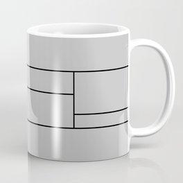 Squares Print Coffee Mug