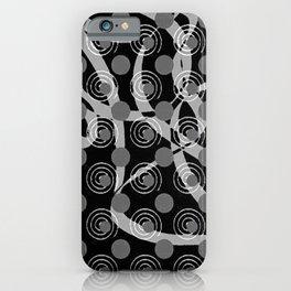 Love Laces black iPhone Case