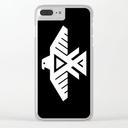 Thunderbird flag - Hi Def image Inverse edition Clear iPhone Case