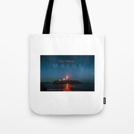 Cape Neddick - Maine. Tote Bag
