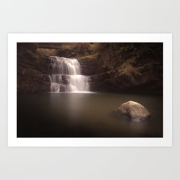 Waterfall country Wales Art Print