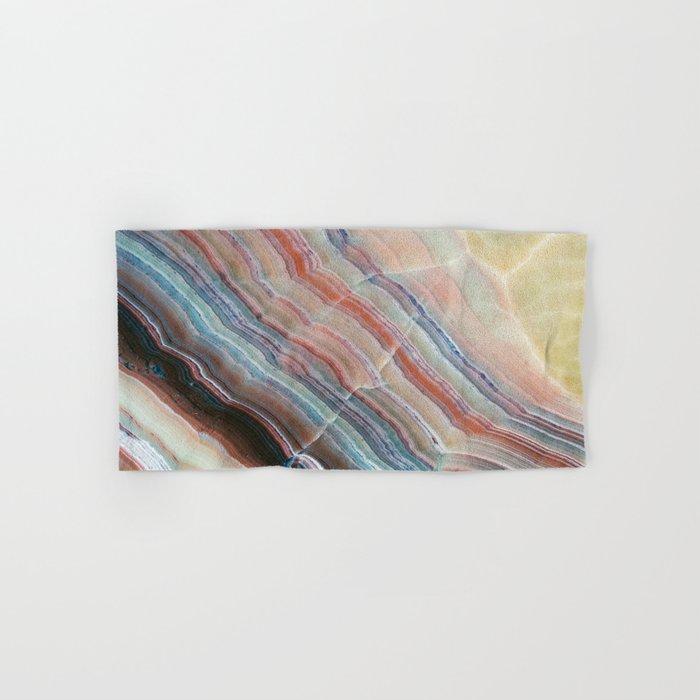 Pastel Onyx Marble Hand & Bath Towel