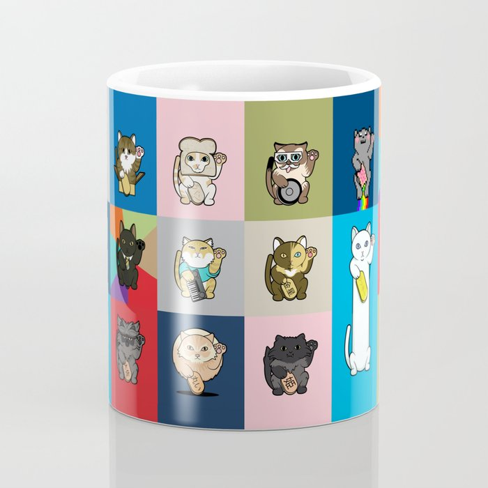 Lucky Cats - LOLcats Coffee Mug