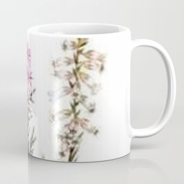Vintage Wildflowers Pink Star Flowers Coffee Mug