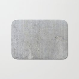 Concrete wall texture Bath Mat
