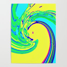 Summer Waves Poster