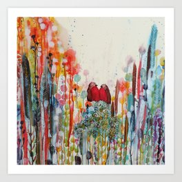 been loving you for always Art Print