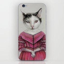 miss cat iPhone Skin