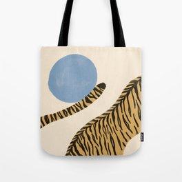 Jumping tigers  Tote Bag