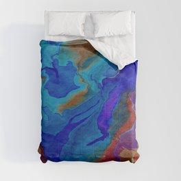 Tangerine Blues  Comforters
