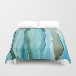 Dance With Me - Green 2016 Duvet Cover