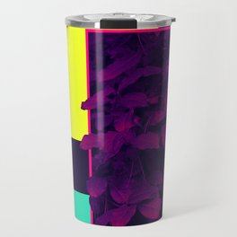 Neon Bush #society6 #retro Travel Mug