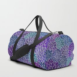 Floral Abstract 22 Duffle Bag