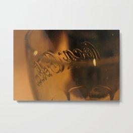 Glass of happiness Metal Print