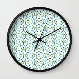 Kubikon .luft Wall Clock