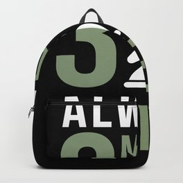 Always 3 Moves Ahead Chess Backpack