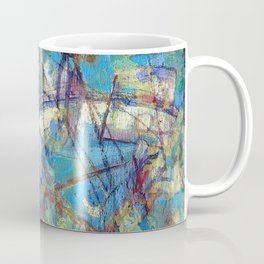 Dragonflies in blue Coffee Mug
