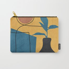 Minimal Abstract Art I Carry-All Pouch