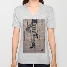 Strip trip Unisex V-Neck