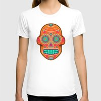 sugar skull T-shirts featuring Sugar Skull by Good Sense
