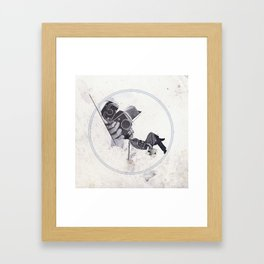 Créatures Framed Art Print