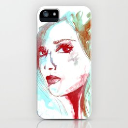 Lady Mint iPhone Case