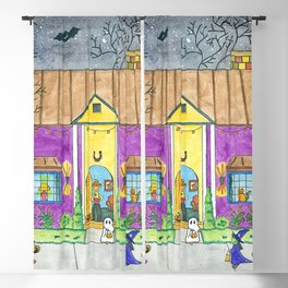 Trick or Treat II Blackout Curtain