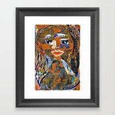 Proudly Back 115 Framed Art Print