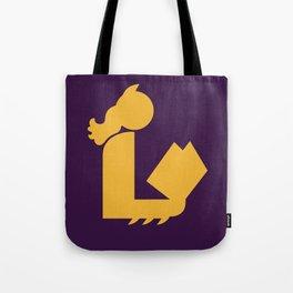 Lady Bat Reads Tote Bag